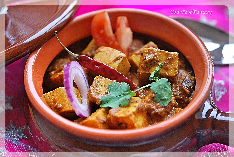 Achari Paneer Restaurant Style | Your Food Fantasy