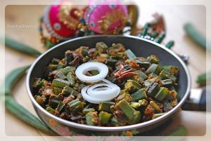 Bhindi Masala Recipe , Okra stir fry