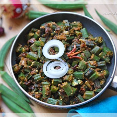 Bhindi Masala Recipe, Okra Recipe | Your Food Fantasy