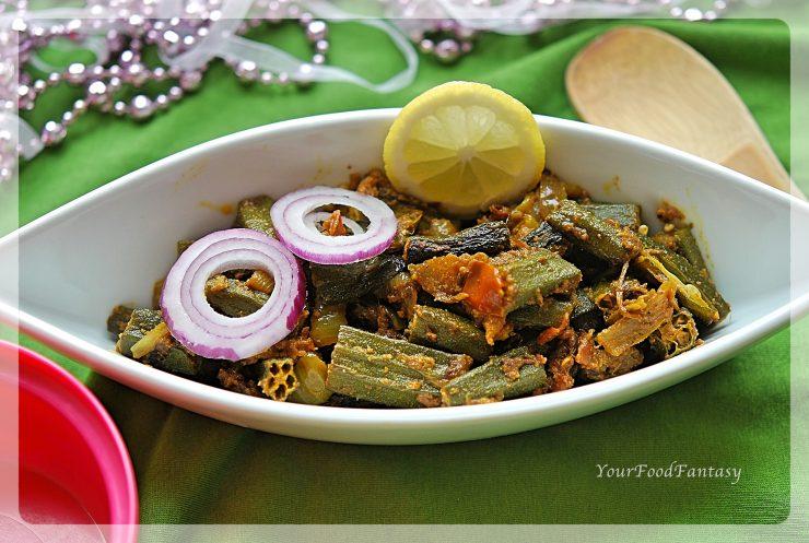 Bhindi Do Pyaza Recipe | Your Food Fantasy
