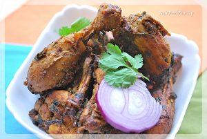 Palak Chicken Curry Recipe   Your Food Fantasy by Meenu Gupta