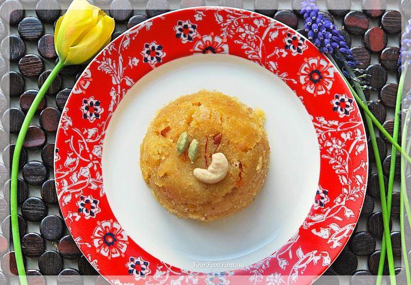 Sooji Halwa Recipe | Your Food Fantasy
