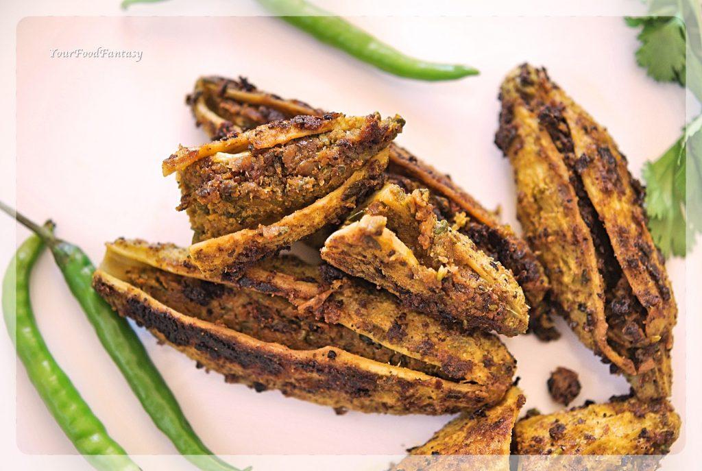 Stuffed Karela Recipe | Bhawa Karela Recipe