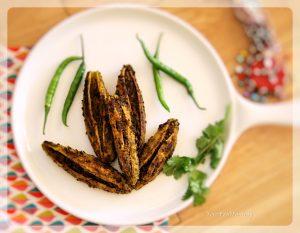 Bharwa Karela   Stuffed Karela   Your Food Fantasy