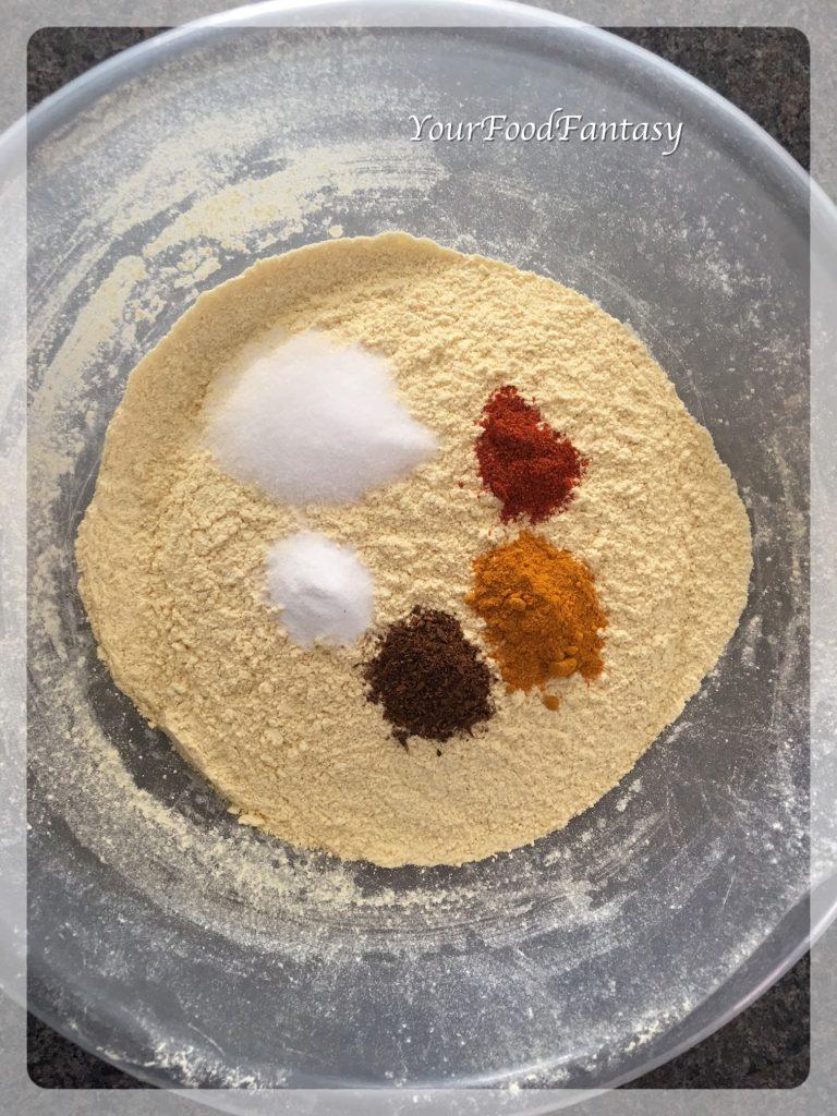 How to make Vada Pav Coating | Your Food Fantasy