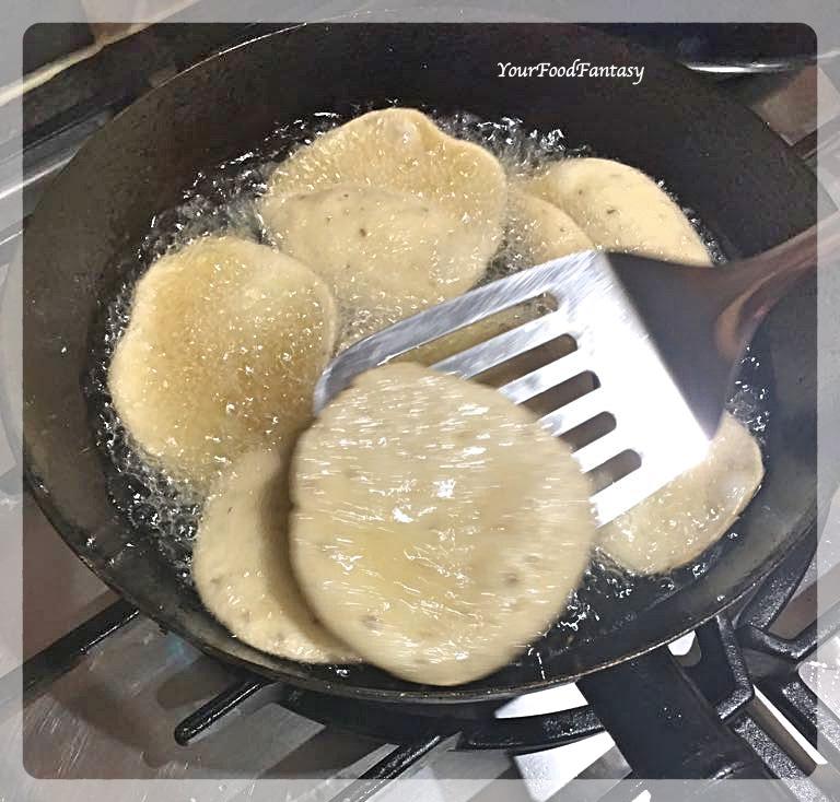 Frying Papdi | Papdi Recipe | Your Food Fantasy