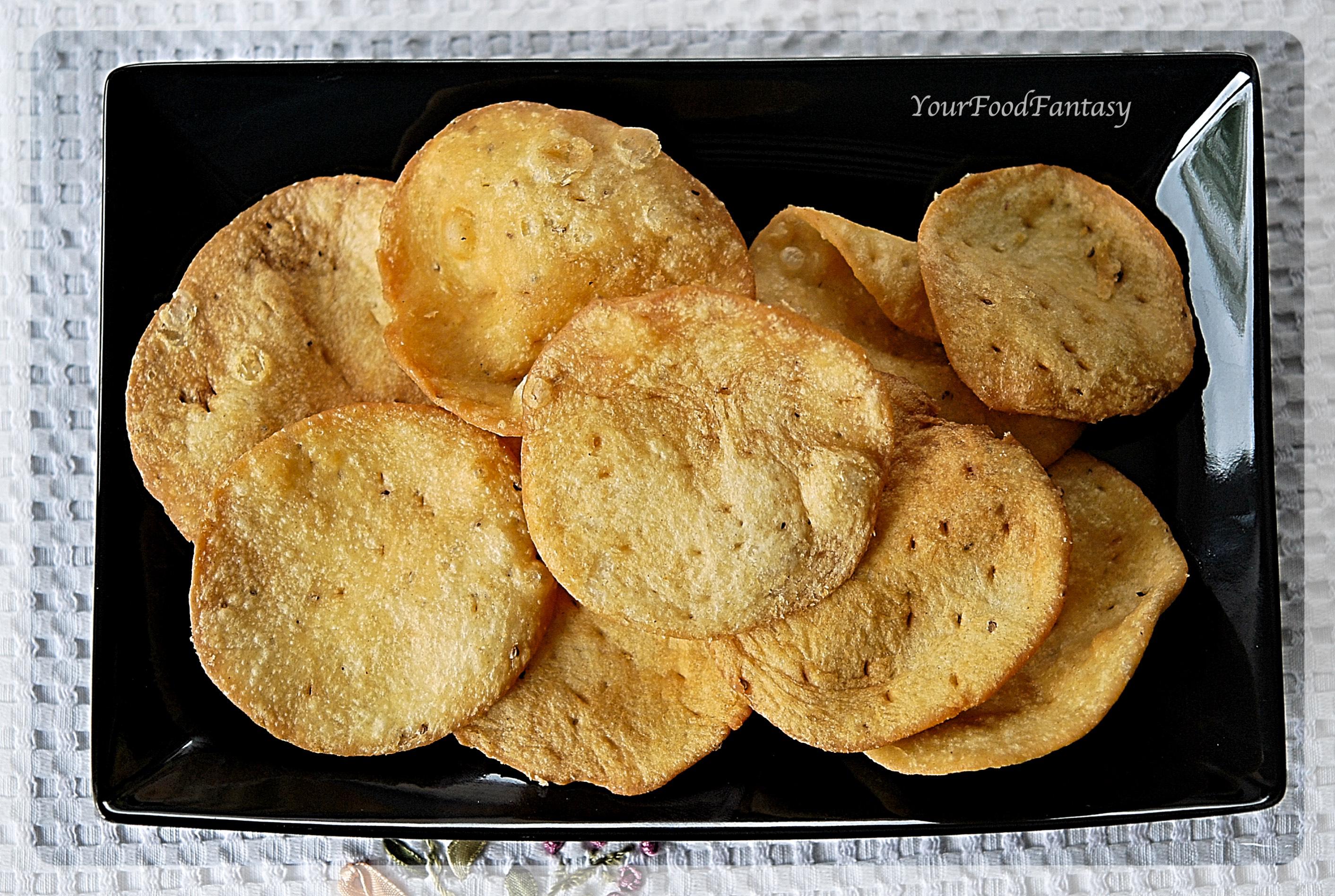Papdi recipe | Papdi for Papdi Chaat | Your Food Fantasy by Meenu Gupta
