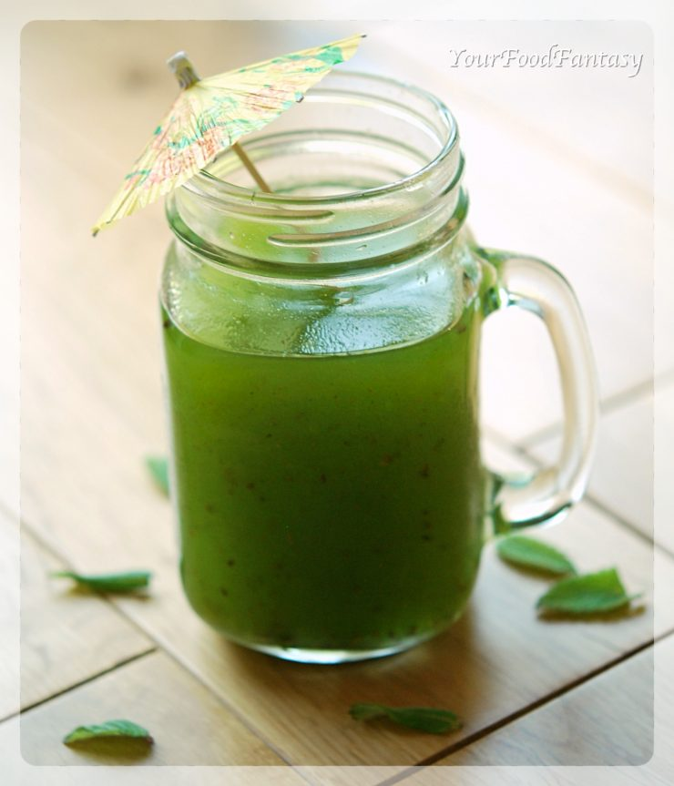 Raw Mango Drink | Aam Panna Recipe | YourFoodFantasy.com
