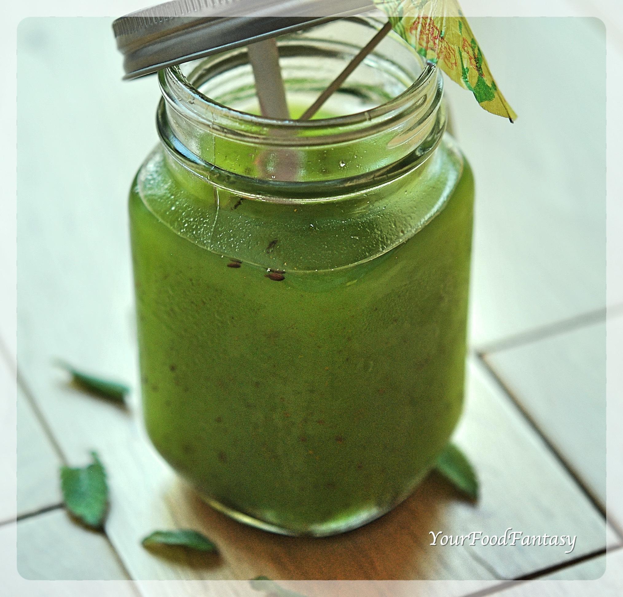 Raw Mango Drink - Aam Panna Recipe   YourFoodFantasy.com by Meenu Gupta