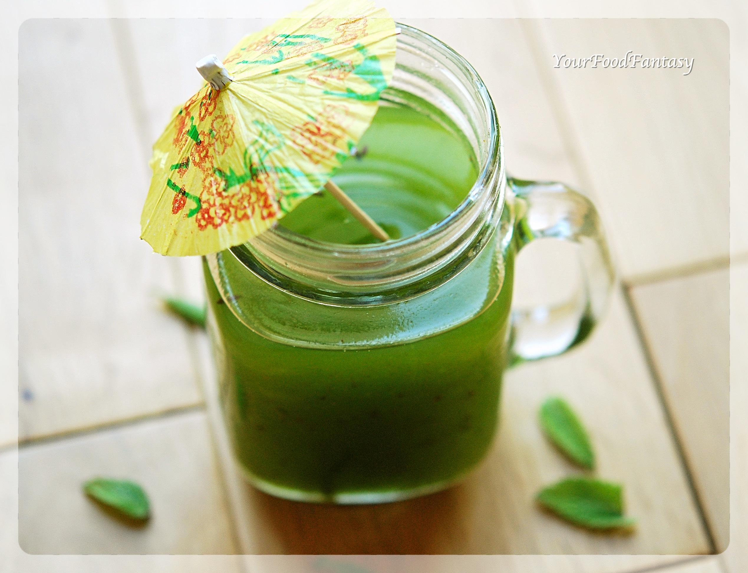 Raw Mango Drink - Aam Panna Recipe   YourFoodFantasy.com