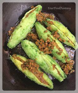 Frying Stuffed Karela | Stuffed Karela Recipe | Your Food Fantasy