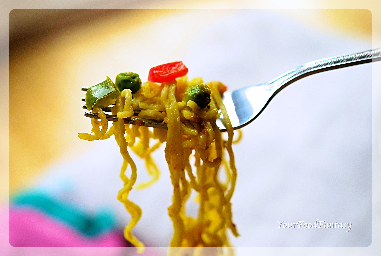 Indian Style Veg Maggi Recipe - Your Food Fantasy