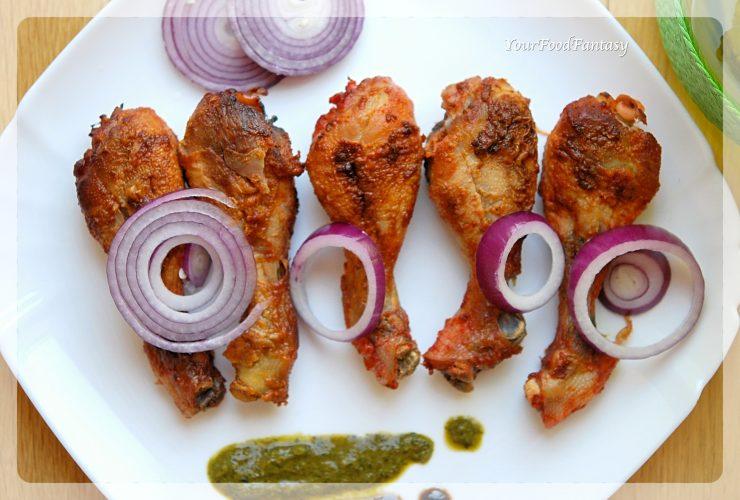 Indian Style Tandoori Chicken | Your Food Fantasy