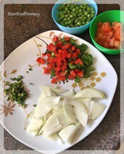 Ingredients for Maggi Masala