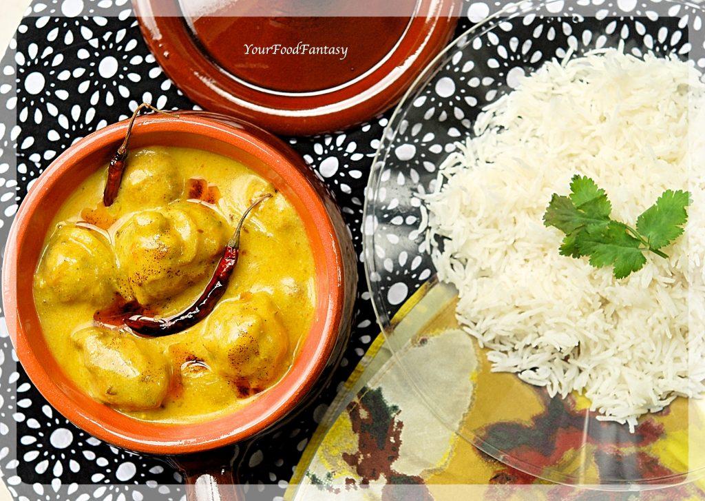 Punjabi Kadhi Pakora Recipe | Your Food Fantasy