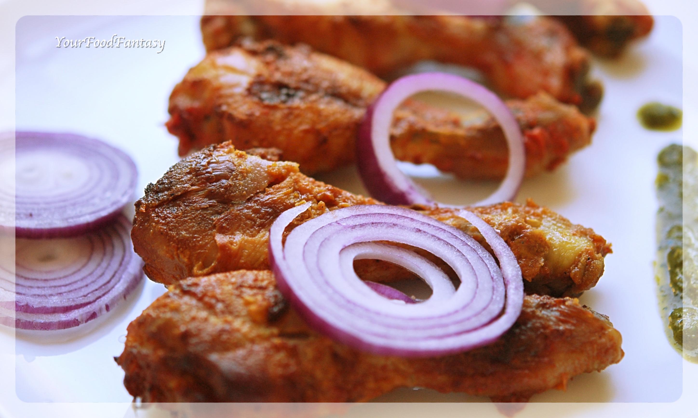 Restaurant Style Tandoori Chicken Recipe   Your Food Fantasy