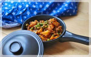 Aalo Matar Ke Sookhi Sabji   Your Food Fantasy by Meenu Gupta