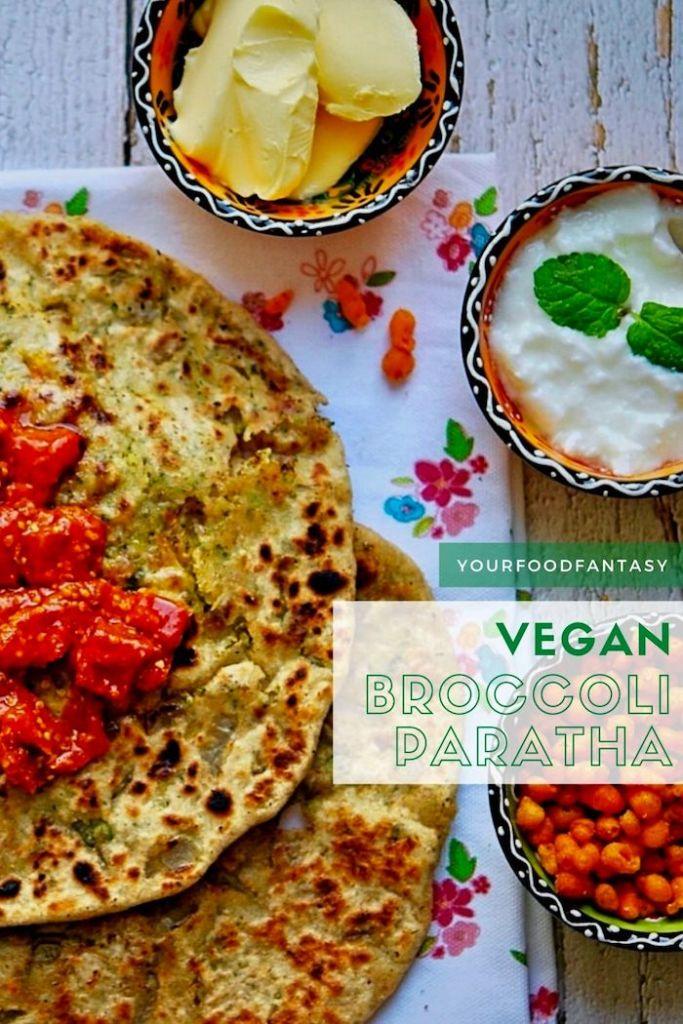 Broccoli Paratha Recipe | Your Food Fantasy