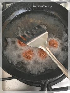 Frying Manchurian Balls | Your Food Fantasy