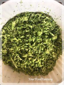 Grated Broccoli | Broccoli Paratha | Your Food Fantasy