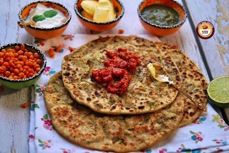 Indian Broccoli Paratha Recipe | Your Food Fantasy