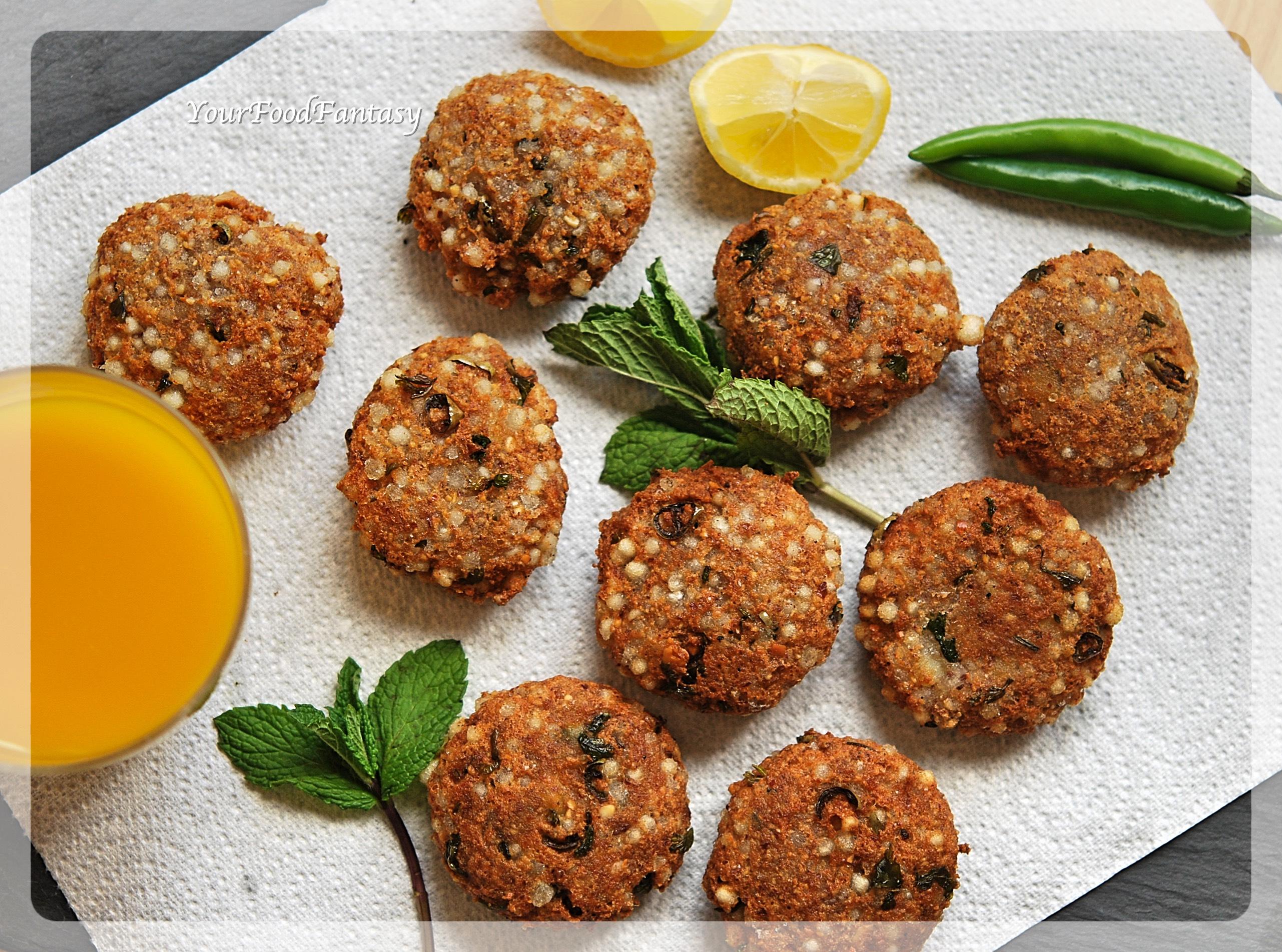 Navratri Recipes | Sabudana Vada | YourFoodFantasy.com
