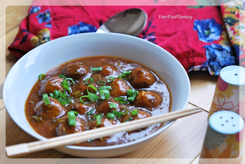 Vegetable Manchurian Recipe | Your Food Fantasy by Meenu Gupta