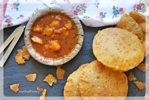 Aalo Tamatar Sabzi   Aalo Ke Raseele Sabzi   Your Food Fantasy
