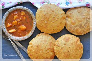 Bedmi Puri - Bedai Puri Recipe   Your Food Fantasy