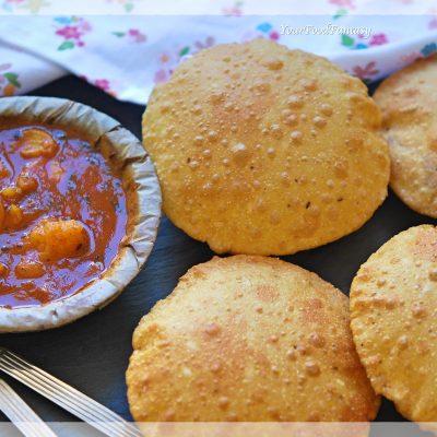 Bedmi Puri - Bedai Puri | Your Food Fantasy