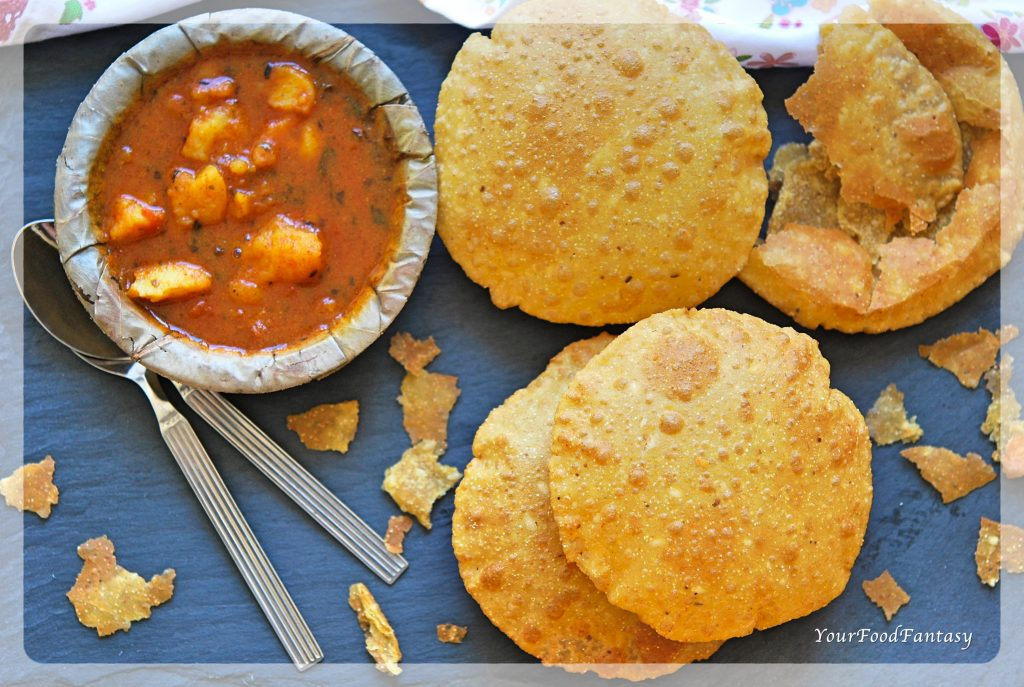 Bedmi Puri Recipe | Your Food Fantasy by Meenu Gupta