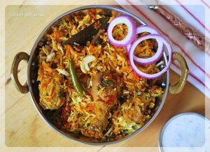 Hyderabadi Chicken Dum Biryani Recipe   YourFoodFantasy.com by Meenu Gupta