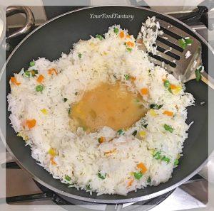Egg Fried Rice - Easy Rice Recipes | YourFoodFantasy.com