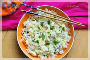 Egg Fried Rice Recipe   YourFoodFantasy.com By Meenu Gupta
