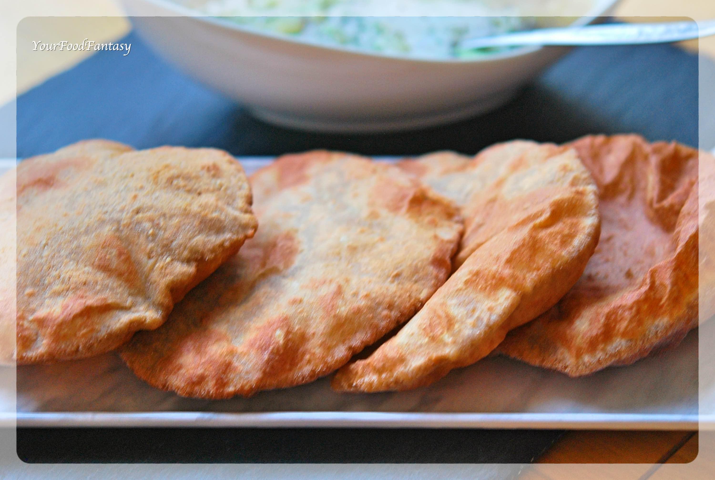 Kuttu Ki Poori Recipe | Buckwheat Flour Poori | Your Food Fantasy