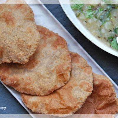 Kuttu Ki Poori Recipe | Buckwheat Flour Puri | Your Food Fantasy