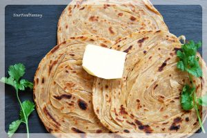 Layered Laccha Paratha Recipe   Your Food Fantasy
