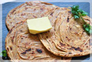 Layered Laccha Paratha   Malabar Paratha Recipe   Your Food Fantasy by Meenu Gupta