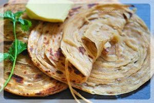 Punjabi Layered Laccha Paratha Recipe | Your Food Fantasy