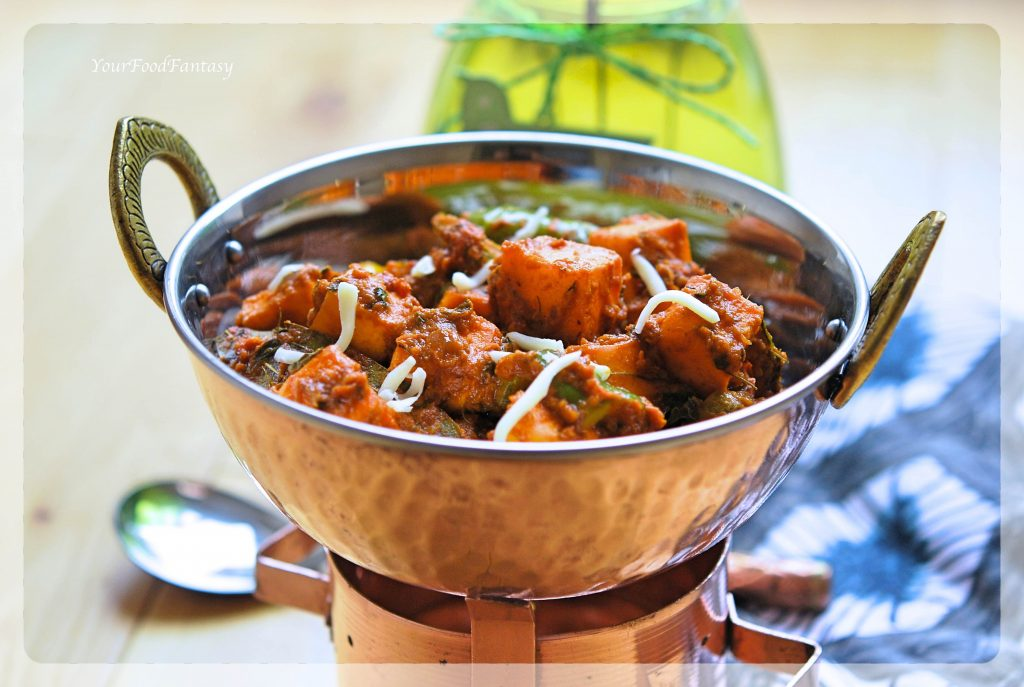 Restaurant Style Kadai Paneer Recipe | Your Food Fantasy by Meenu Gupta