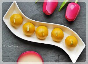Besan Ladoo Recipe   Your Food Fantasy