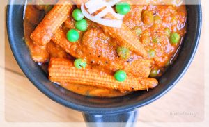 Easy Baby Corn Masala Recipe | YourFoodFantasy.com Meenu Gupta
