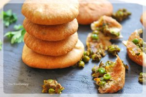 Matar Ke Kachori | Green Pea Stuffed Fried Patty | Your Food Fantasy by Meenu Gupta