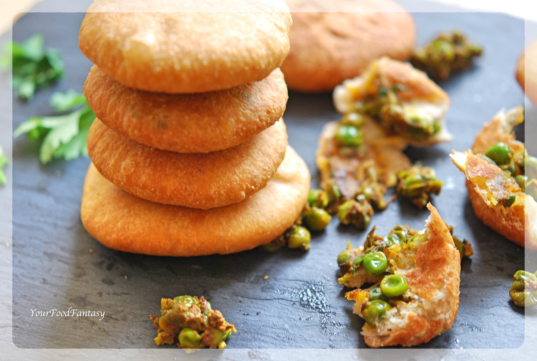 Matar Ke Kachori   Green Pea Stuffed Pastry   Your Food Fantasy by Meenu Gupta