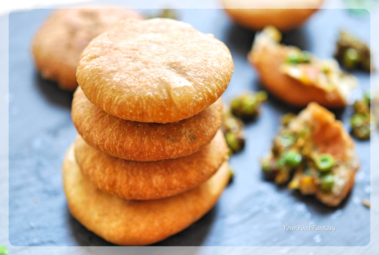 Matar Ke Kachori   Green Pea Stuffed Pastry   YourFoodFantasy.com