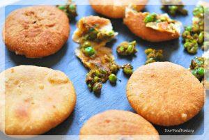 Matar Ke Kachori Recipe | Green Pea Stuffed Fried Patties | Your Food Fantasy
