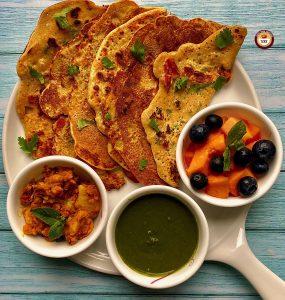Vegan - Gluten Free Besan Cheela   Your Food Fantasy