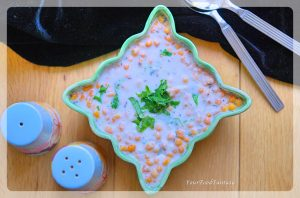 Boondi Raita - Quick and Easy Yoghurt Dip Recipe   YourFoodFantasy.com