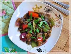 Chilli Mushroom Recipe | Mushroom Recipe | Your Food Fantasy by Meenu Gupta