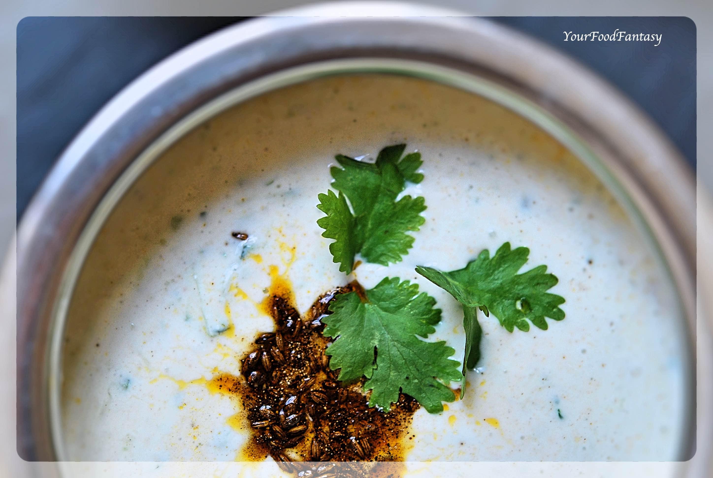 Raita with Cucumber | Your Food Fantasy